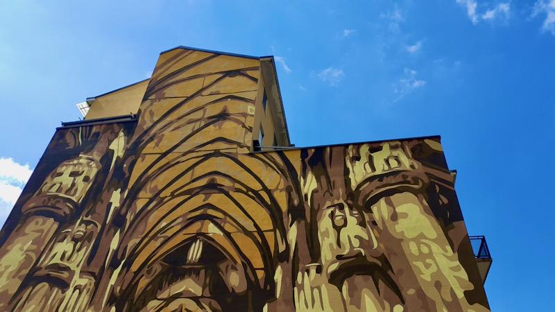 murales duomo ortica milano