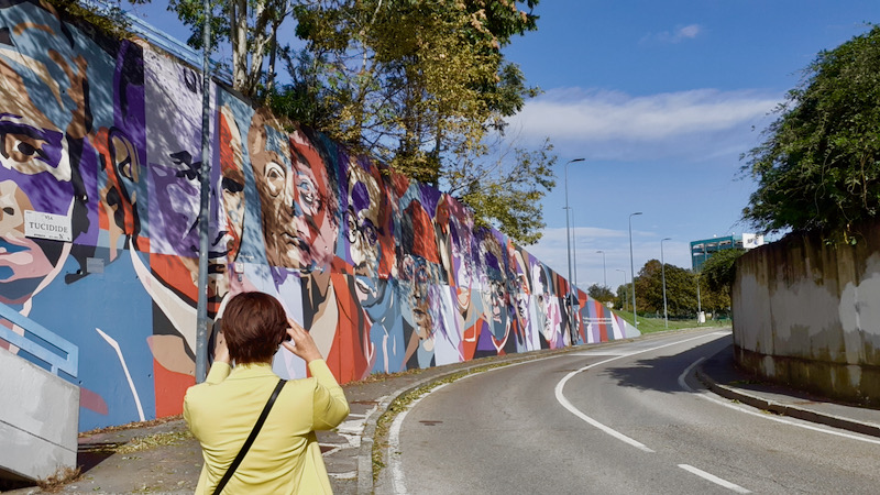 murale della resistenza