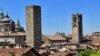 Bergamo, città alta con sorpresa