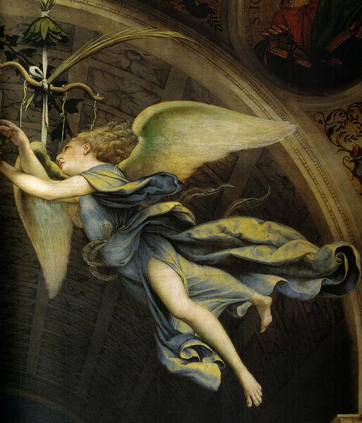 pala martinengo dettaglio angelo