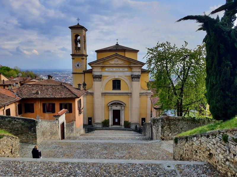 Chiesa Santa Grata bergamo