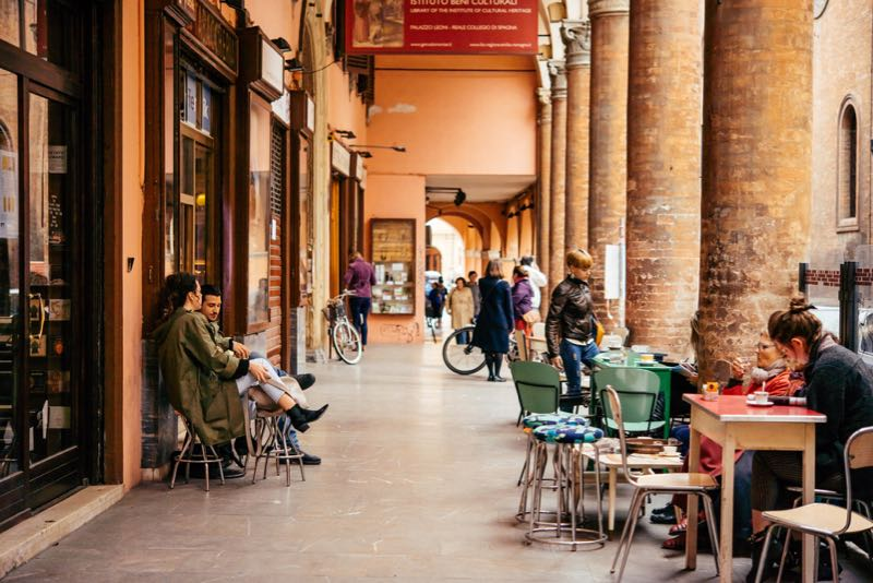 bologna portici guida turistica