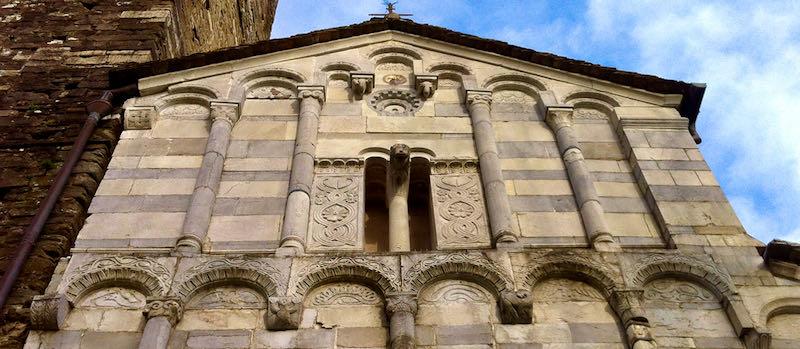 la chiesa di San Cassiano in Controne